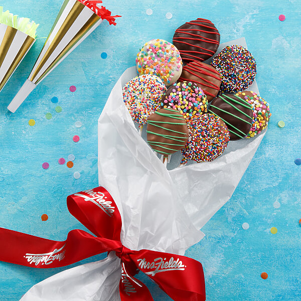 Belgian Chocolate Nibblers Cookie Pop Bouquet