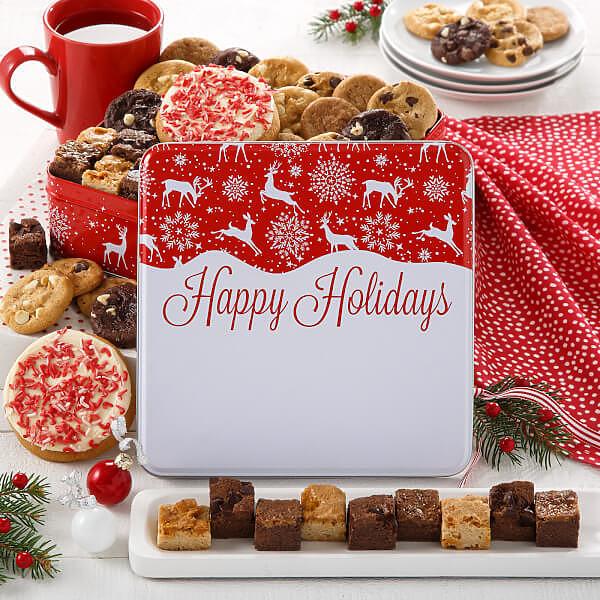 Holiday Reindeer Medium Combo Tin