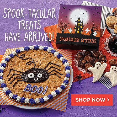 Spook-tacular treats have just arrived! Shop Now.