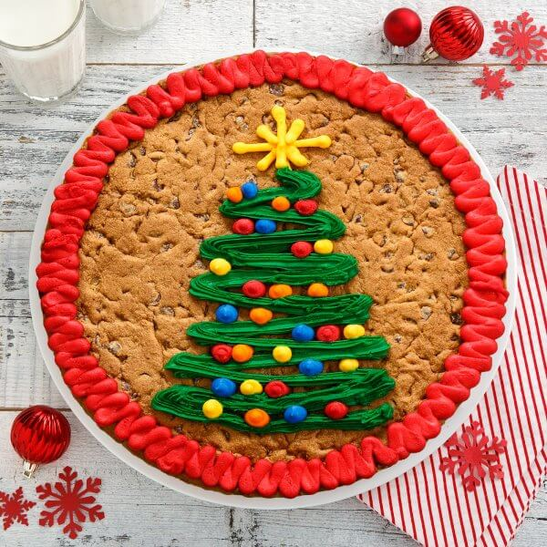 Holiday Tree Cookie Cake
