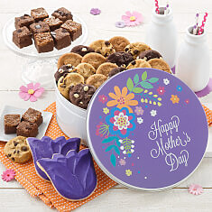 Mothers Day Bouquet Combo Tin