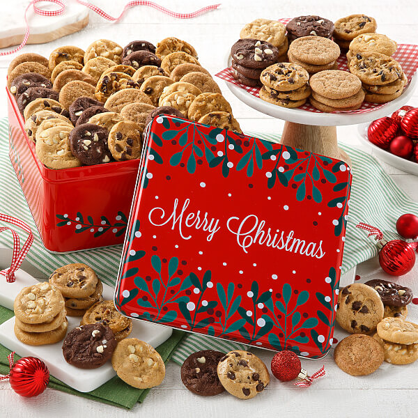 Merry Christmas 60 Nibblers No Nuts