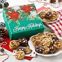 Happy Holidays Bite-Sized Cookies Box