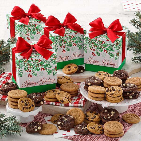 Mistletoe Mini Gift Box C/12