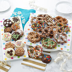 Chocolate Pretzels  Nibblers