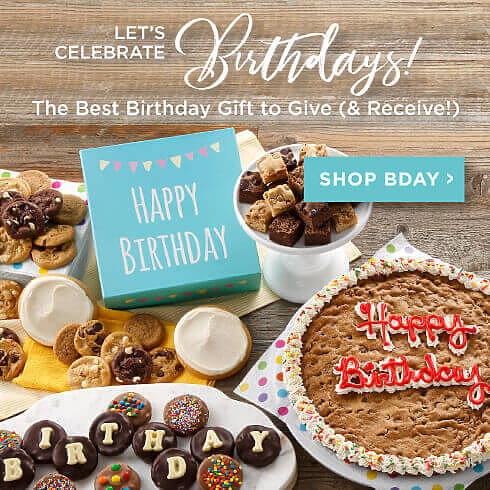 Shop Birthday Cookie Gifts
