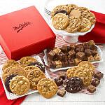 Crimson Cookie and Brownie Box