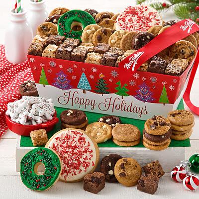 Happy Holidays Tree Crate