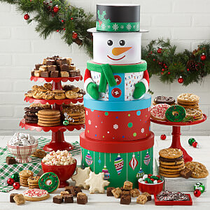 Ultimate Snowman Cookie Tower - Ultimate Snowman Cookie Tower