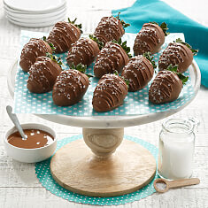 12 Salt  Caramel Chocolate Berries