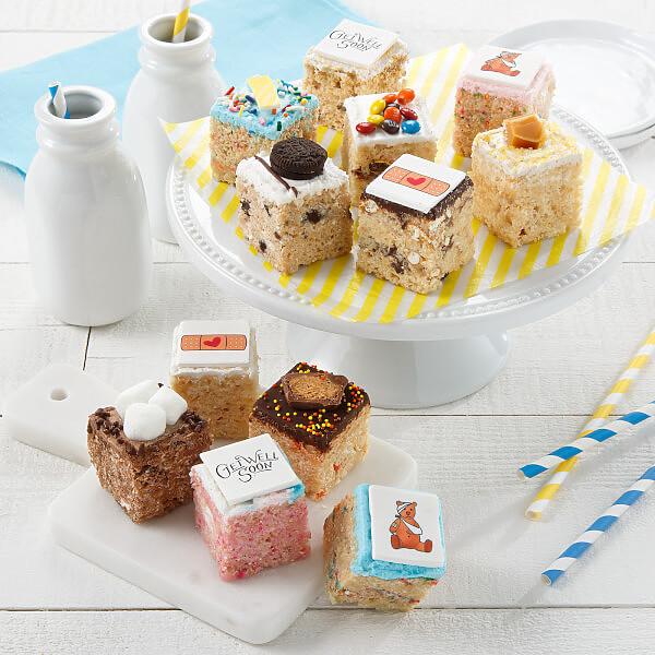 Get Well Rice Krispie Mini Gift Box